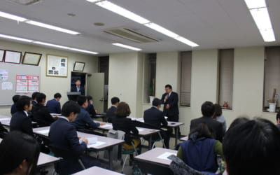 1月例会(新年会)のアテンド説明会が行われました。