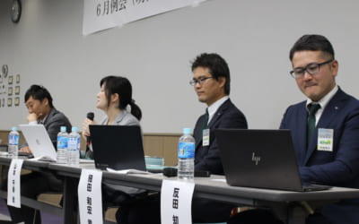6月例会(明日を語ろう討論会)が開催されました。